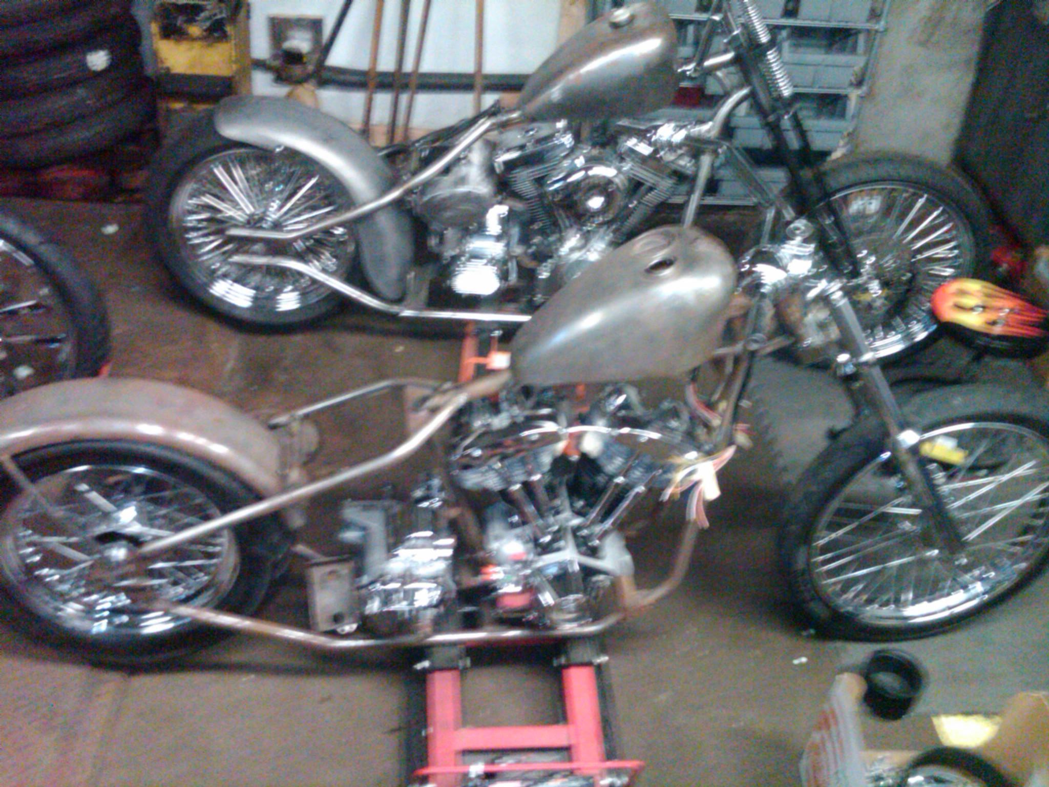 1958 Harley Davidson Hummer Gas Tank
