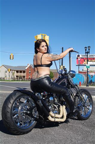 girls on motorcycles rod hot Rat