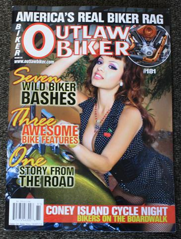 Outlaw Biker Magazine | What's Hot with Bobber and Chopper ...