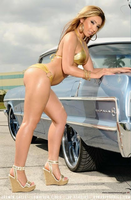 Low rider bikini contest